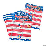 Patriotic Scavenger Hunt Game