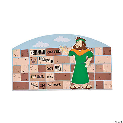 Nehemiah Stand-Up Craft Kit
