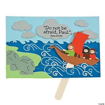 Paul Trusts God Sign Craft Kit