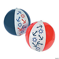 Nautical Beach Balls