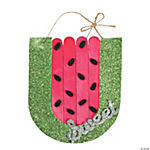 Watermelon Craft Stick Ornament Craft Kit