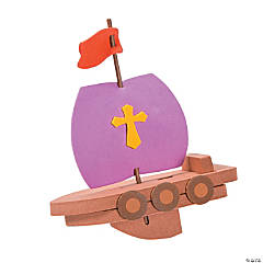 """Mighty Kingdom"" Floating Boat Craft Kit"