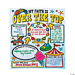 "Color Your Own All About ""Over the Top"" VBS Posters"