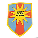 """Christ Is My Victory"" Shield Craft Kit"