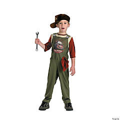Tow Mater Mechanic Standard Boy's Costume