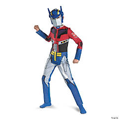 Transformer Optimus Prime Costume for Boys