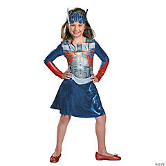 Girl's Transformers Optimus Costume