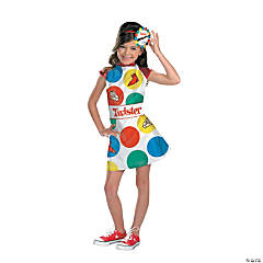 Twister Girl's Costume