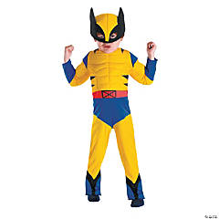 Muscle Wolverine Costume for Boys