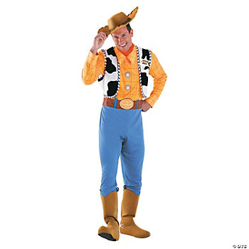 Woody Deluxe Adult Men's Costume. IN-13586545