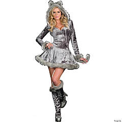 Big Bad Sexy Wolf Adult Women's Costume