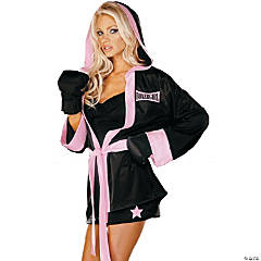 Boxer Girl Adult Women's Costume