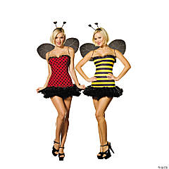 Buggin Out Reversible Adult Women's Costume