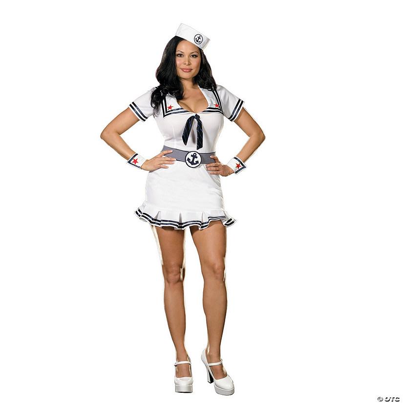 sc 1 st  Oriental Trading & Womenu0027s Cruise Cutie Sailor Costume