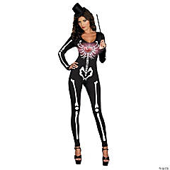 Dancing Skeleton Adult Women's Costume