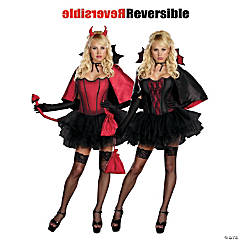 Devils Night With Bite Costume for Women