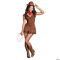 Giddy Up Western Cowgirl Costume for Women