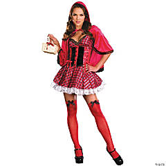 Little Red Small Adult Women's Costume