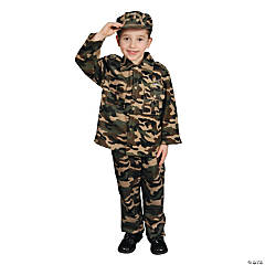 Army Toddler Kid's Costume