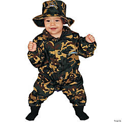 Baby Military Officer Kid's Costume