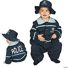 Baby Police Officer Kid's Costume