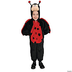 Little Ladybug Costume for Toddler Girls