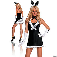 Black Tie Women's Bunny Costume