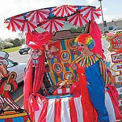 Carnival Trunk or Treat Car Decorations Idea