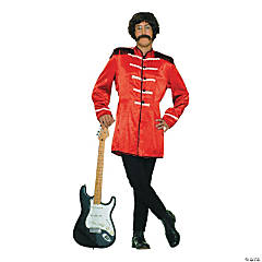 British Explosion Red Adult Men's Costume
