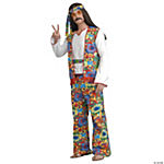 Hippie Dippie Adult Men's Costume