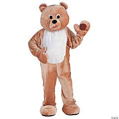 Honey Bear Mascot Adult Costume