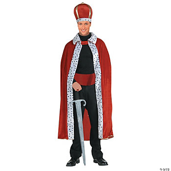 King Robe & Crown Adult Men's Costume