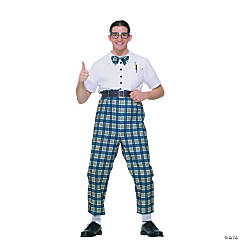 Nerd Adult Men's Costume