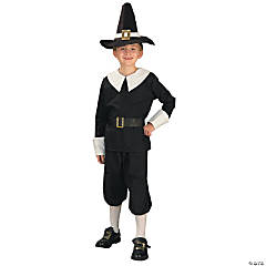 Pilgrim Boy's Costume Set