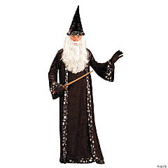 Wizard Hat & Robe Adult Women's Costume