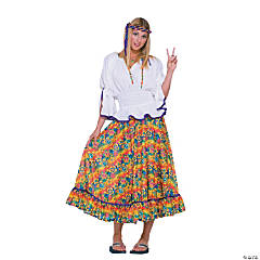 Woodstock Girl Adult Women's Costume