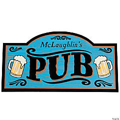 Personalized Everyday Pub Sign Wall Piece