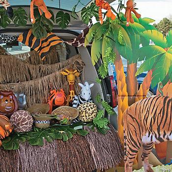 Paradise safari party lanterns for Decoration jungle