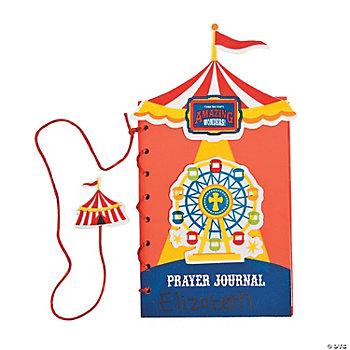 """Over The Top"" Prayer Journal Craft Kit"