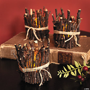 Twig LED Votive Holders