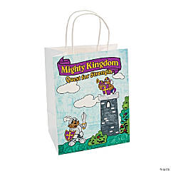 "Color Your Own ""Mighty Kingdom"" Take Home Bags"