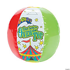 "Color Your Own ""Over The Top"" Inflatable Beach Balls"
