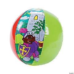 "Color Your Own ""Mighty Kingdom"" Inflatable Beach Balls"