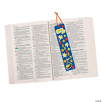 """Over The Top"" Bookmark Craft Kit"