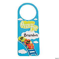"""Over The Top"" Doorknob Hanger Craft Kit"