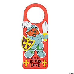 """Mighty Kingdom"" Doorknob Hanger Craft Kit"