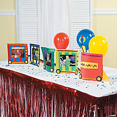 DIY Birthday Train Idea