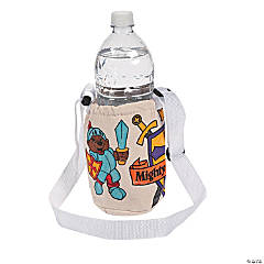 "Color Your Own ""Mighty Kingdom"" Water Bottle Holders"