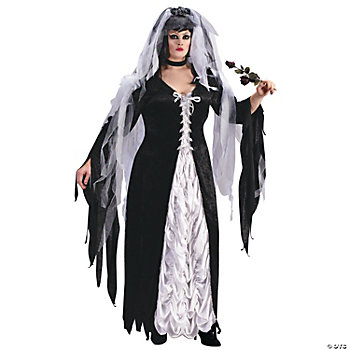Bride Of Darkness Plus Size Adult Women's Costume