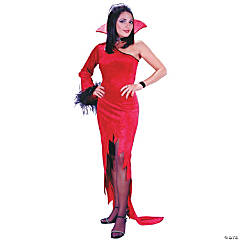 Crimson Countess Adult Women's Costume